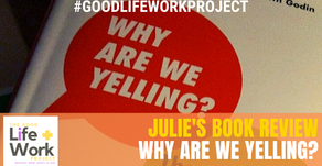"""Buster Benson's """"WHY ARE WE YELLING?"""":  The Good Life and Work Book Review"""