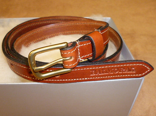 Tan Bridle Leather Belt 19mm 3/4 inch