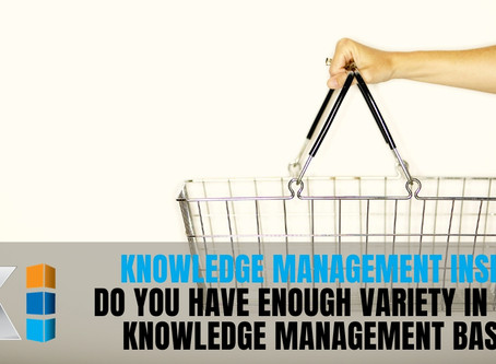 Does your KM team have the variety to succeed?