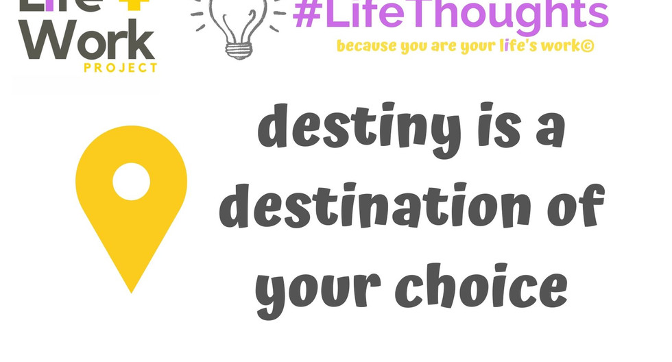 What will you choose today?