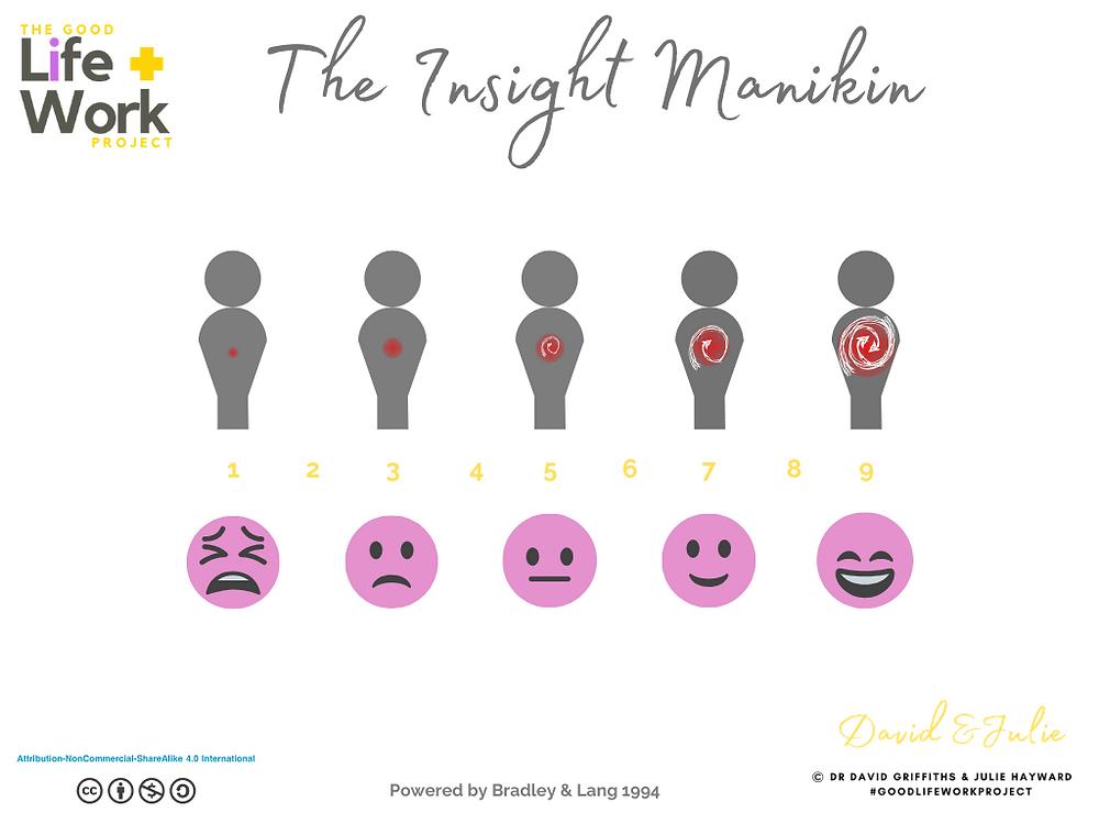 The Good Life + Work project Insight Manikin