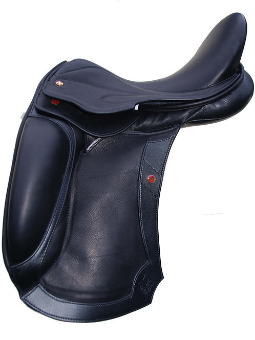 Balmoral Dressage Mono Panel Calf Covered