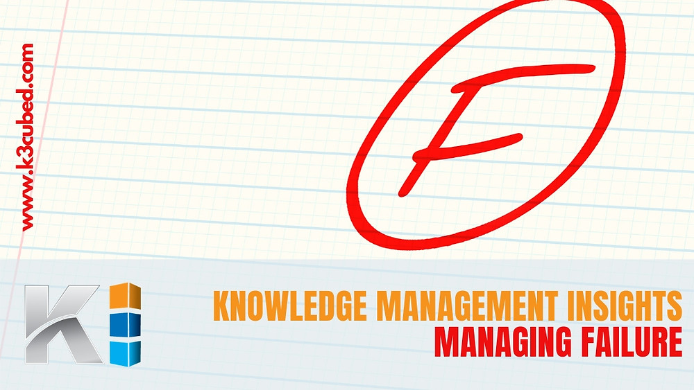 Knowledge Management Managing Failure