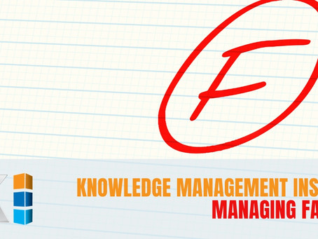 Knowledge Management Insights: Managing Failure