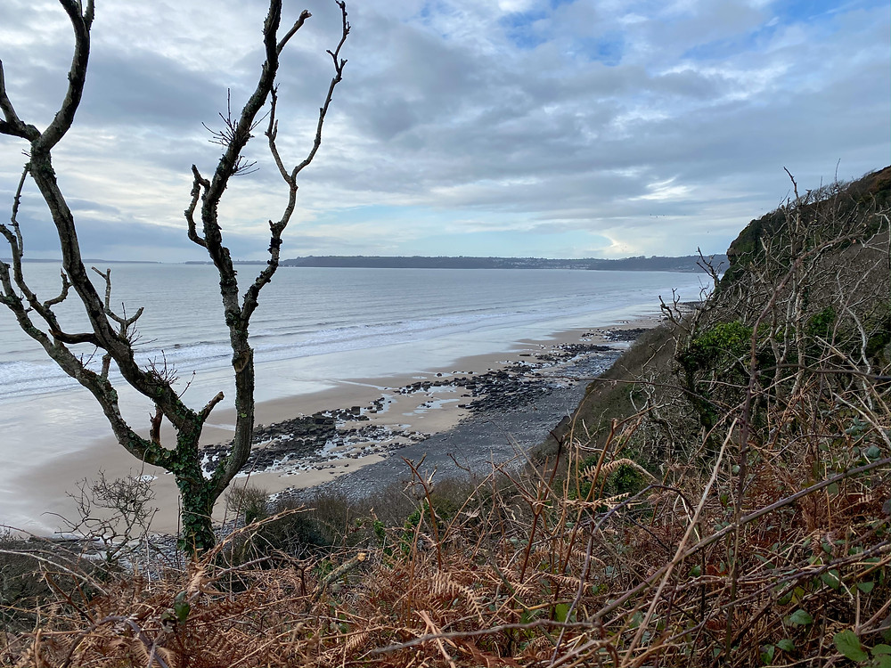 Good Walk Toward Saundersfoot travelling to Pendine