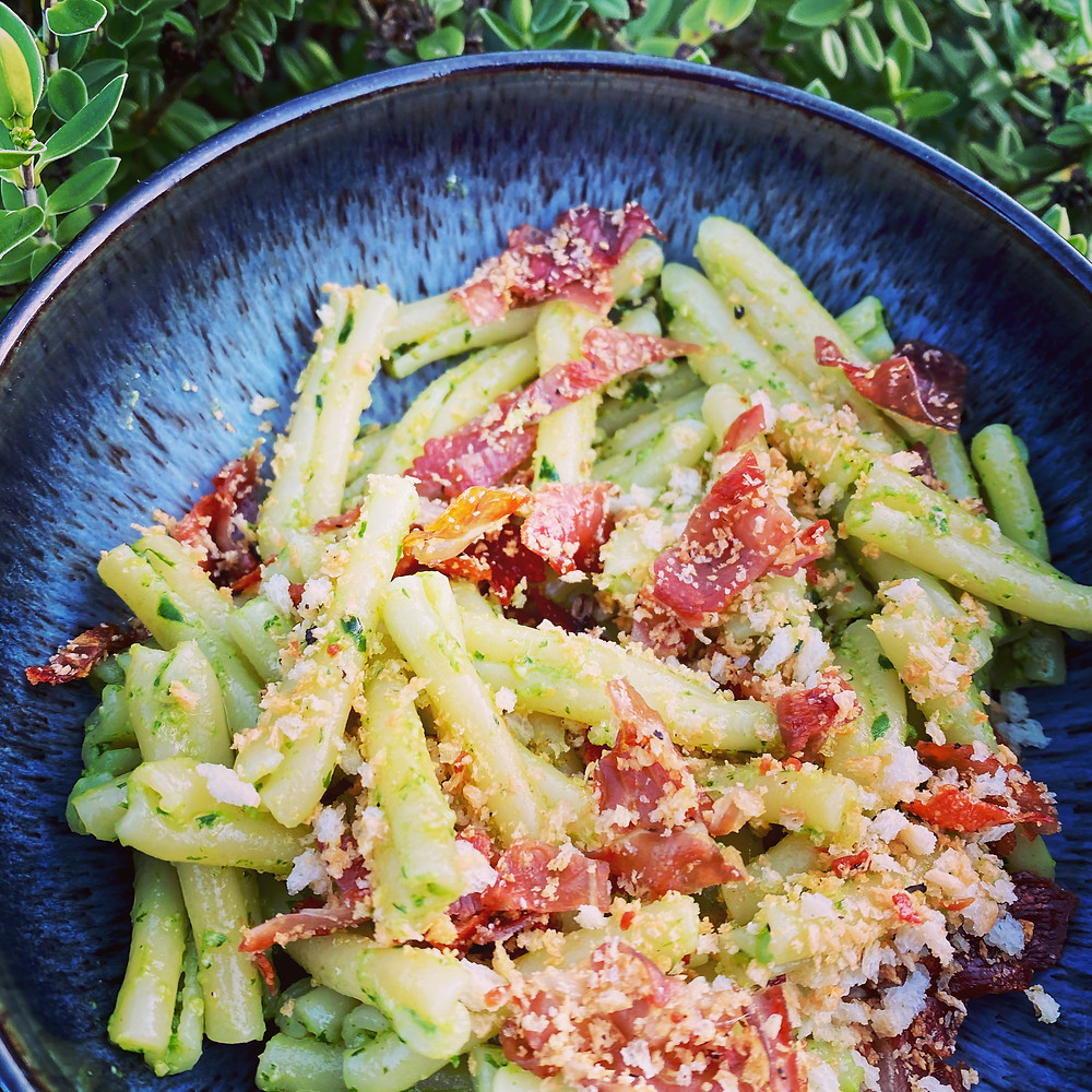 Zoe's Colby Woods Wild Garlic Pesto Recipe