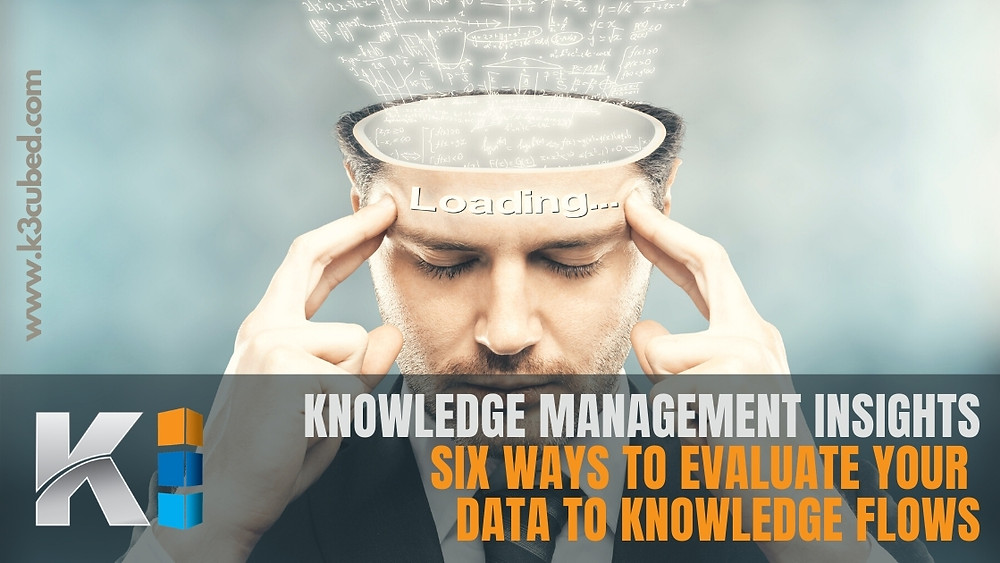 data to knowledge flows knowledge management insights