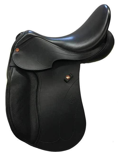 Excelsior Evolution Dressage Saddle Solid Flap / Skirt