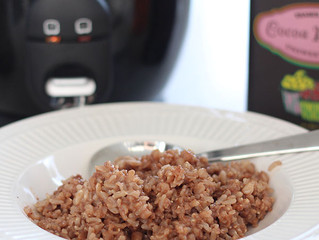 Healthy Chocolate Sticky Rice Recipe
