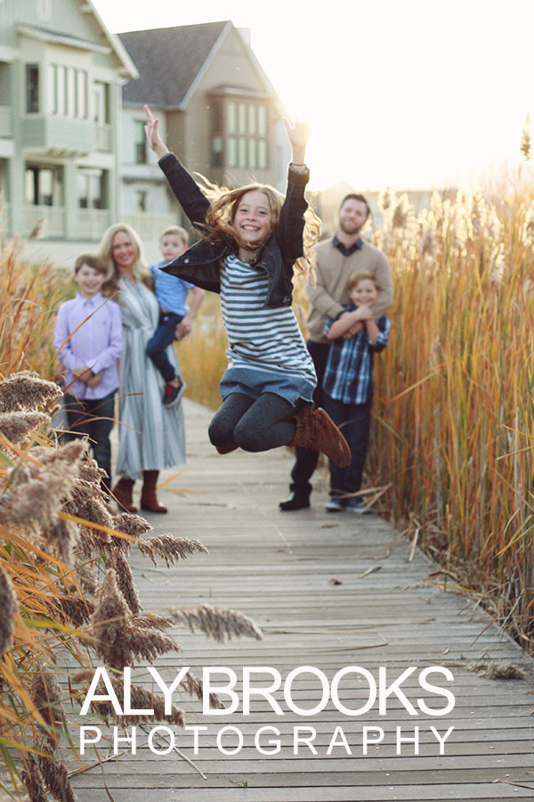 Family Portrait Photography - Salt Lake City - Daybreak