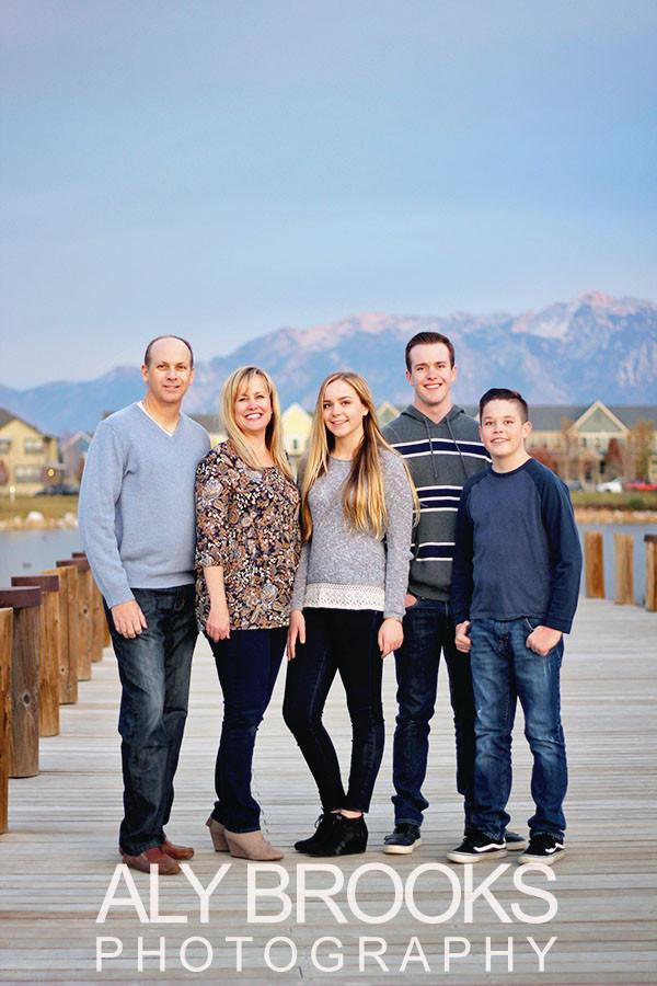 Family Portrait Session - Daybreak - South Jordan, Utah