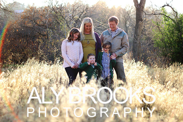 Family Photo Session - Cottonwood Heights, Utah