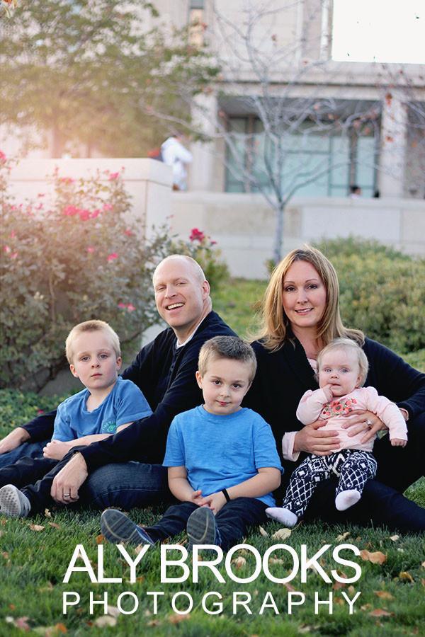 Family Photo Session - Daybreak, South Jordan, Utah