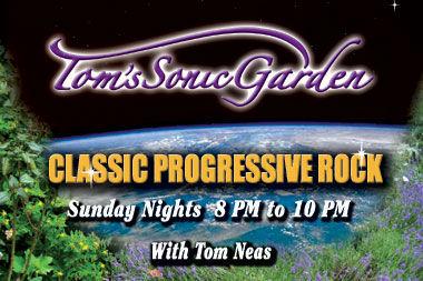 tom's sonic garden on koci radio tom neas