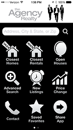 free real estate app, free app, homes for sale, troy davis, the agency realty