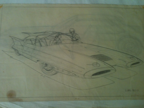300 X line drawing