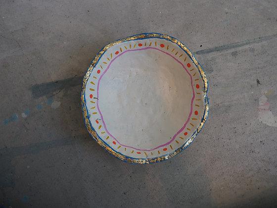 Small Concrete Clay Bowl