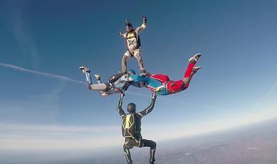 Skydive Hybrid Jump over Algarve – The Skydiving Therapist – Skydive in Portugal