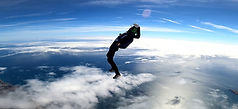 Feet First Tracking - Tracking Jump over Algarve – Angle Jump in Algarve - Learn Skydive Tracking in Algarve – The Skydiving Therapist – Skydive Tracking Coach in Portugal – Skydive Coach in the Algarve – TR1 TR2 TR3 Sticker
