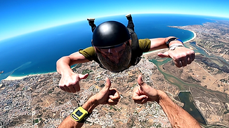 Learn to Skydive with The Skydiving Therapist – Change your life – Skydive In Algarve – Skydive in Portugal – Skydive in Paradise - Get your Skydiving Qualifications in Algarve – FS1 Qualifying jump - BS A Licence - BS FS1 – USPA A License – FS1 Sticker – FS1 Qualification