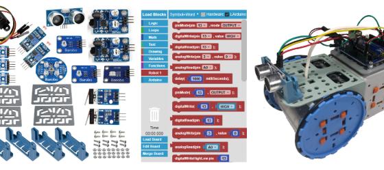 Use LArduino Coding for Sensor-Based Robotics!