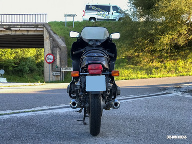 BMW R100 RS REAR VIEW