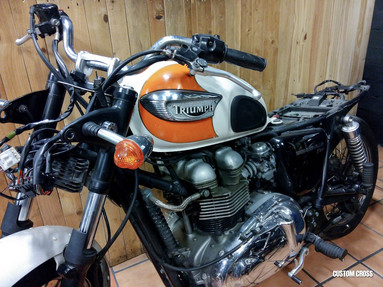Triumph Bonneville Customization