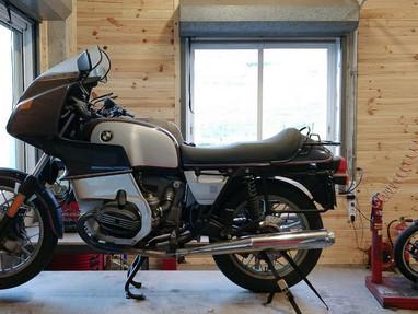BMW R100 RS TRANSFOMACION