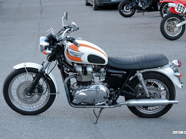 Triumph Bonneville Left View