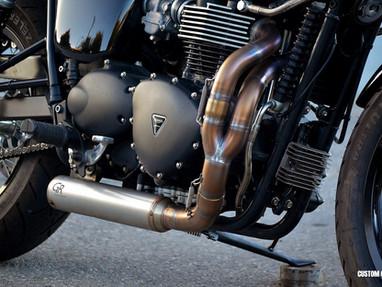 Triumph Bonneville Exhaust