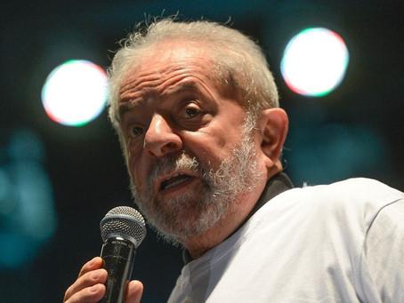 Após conversa Lula indica Haddad como pré-candidato do PT para presidente em 2022
