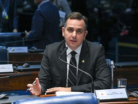 Rodrigo Pacheco é eleito presidente do Senado
