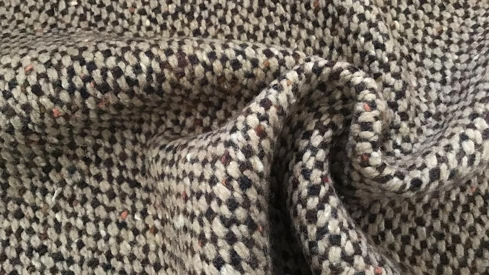 Ex Designer - Shades of Brown, Beige, Caramel Wool Coating