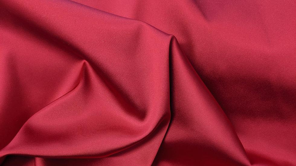 Ex Designer - Scarlet 'Wendy' Stretch Satin