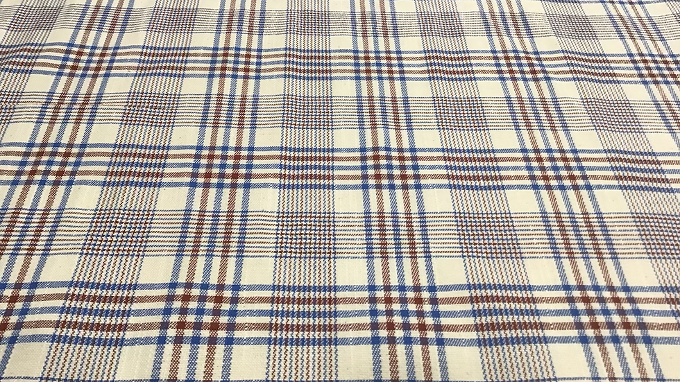 Claire - Cotton Plaid
