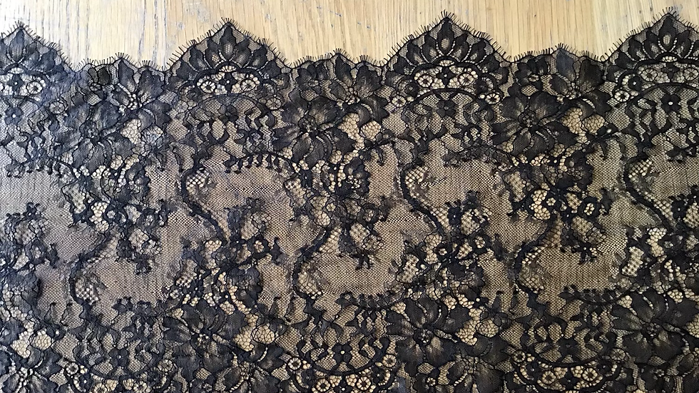 Black Chantilly Lace