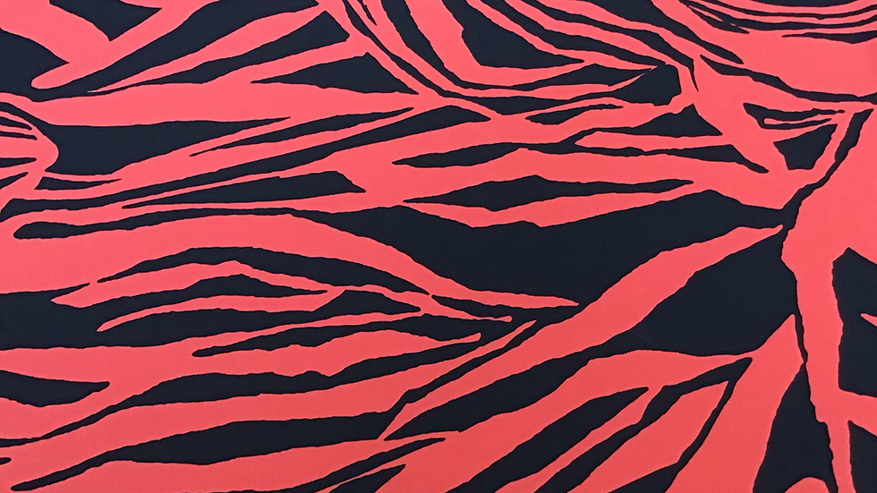 Tomato Abstract Tiger- Red