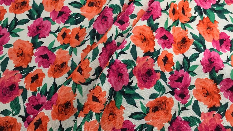 Remnant - Felicity Floral  Viscose /130cm