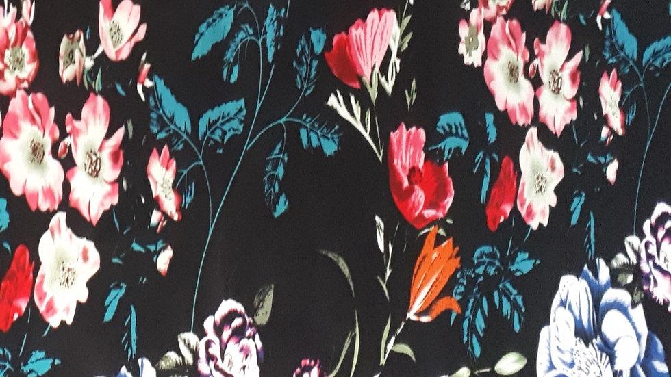 Digital Floral Print