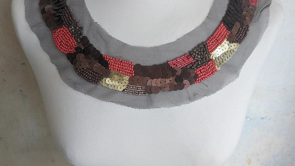 Red Copper Black Collar