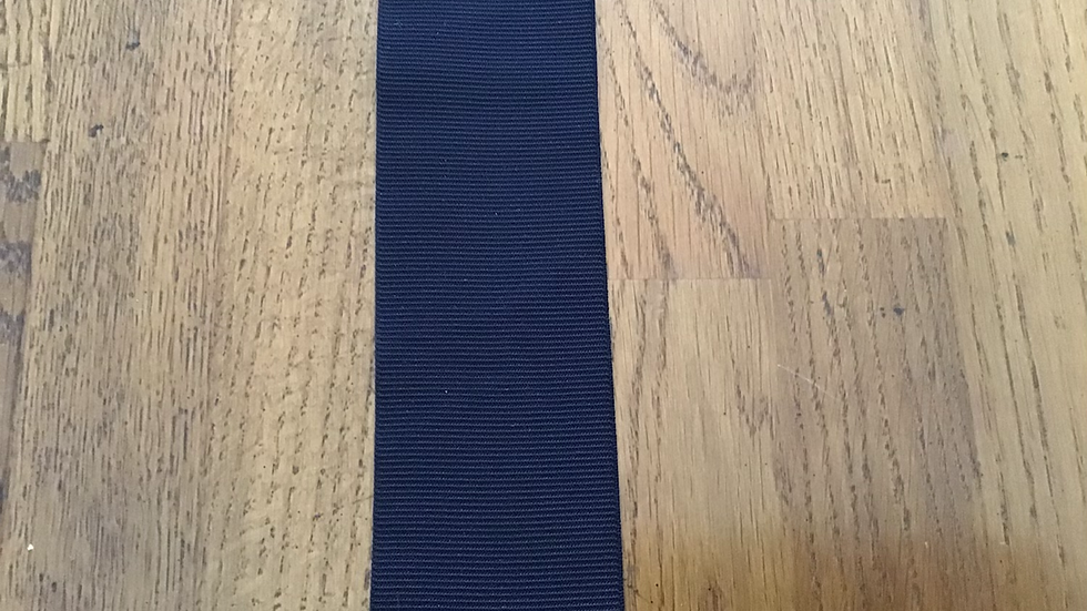 Extra Wide Dark Blue Elastic/ 5cm wide