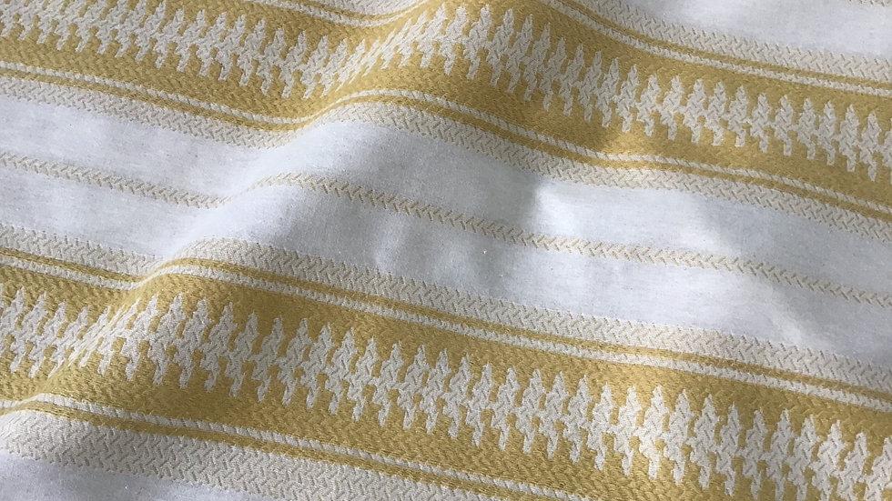 Off White & Sand Paysanne Cotton
