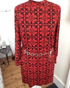 Wendy's 60s style jersey dress