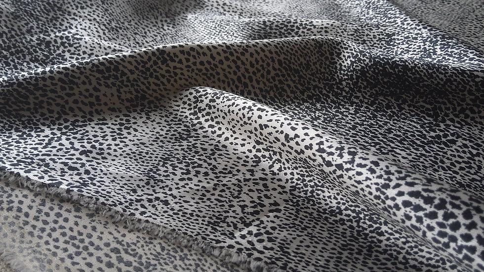 Mini Leopard Satin - Natural