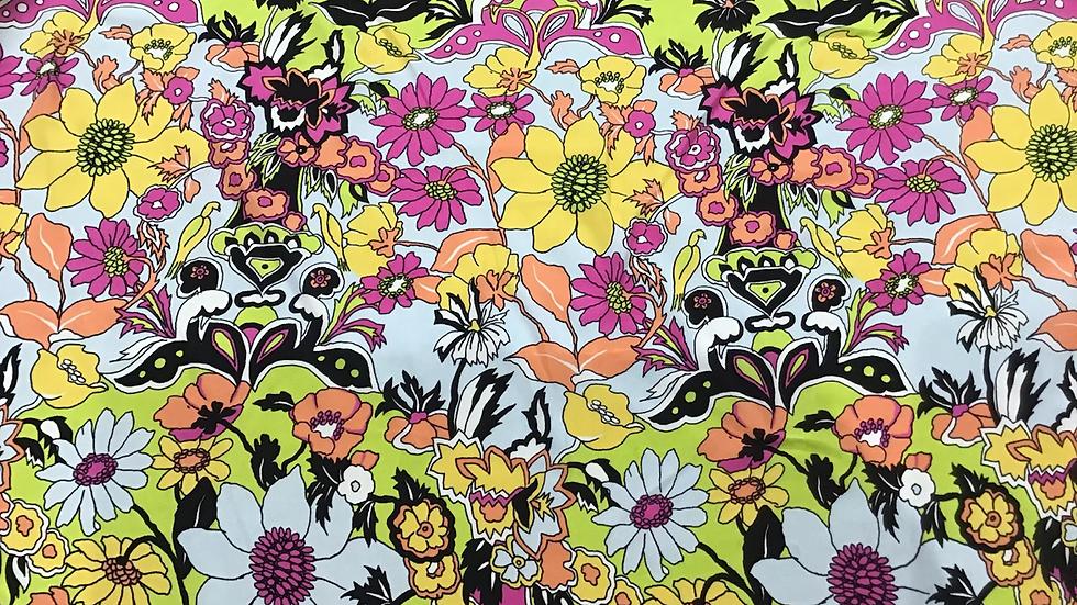 Flower Power Silk