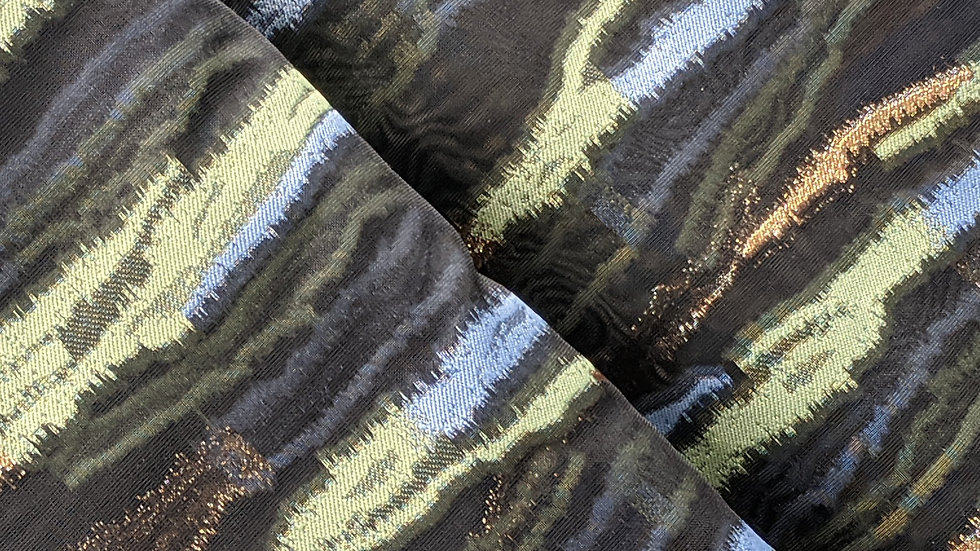 Arty Organza Jacquard with Metallic Threads