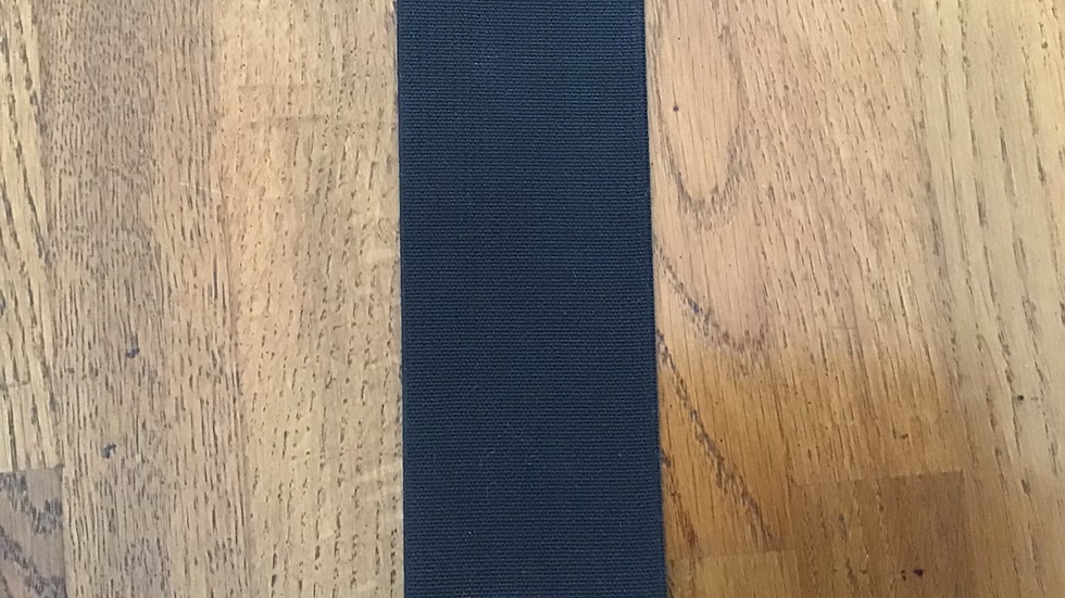 Extra Wide Black Elastic/ 6cm wide