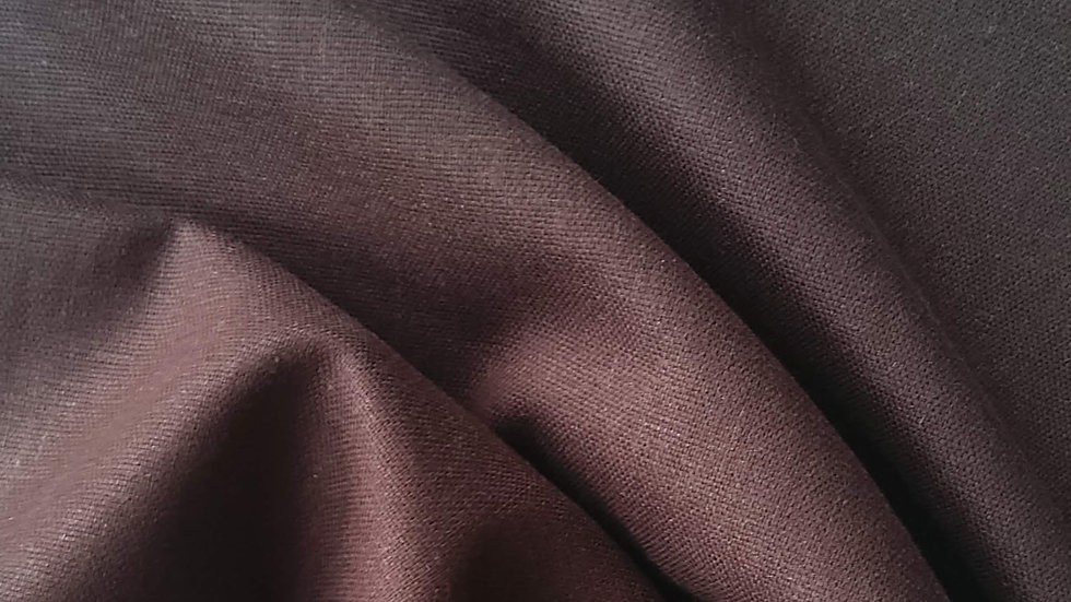 Chocolate Brown Linen
