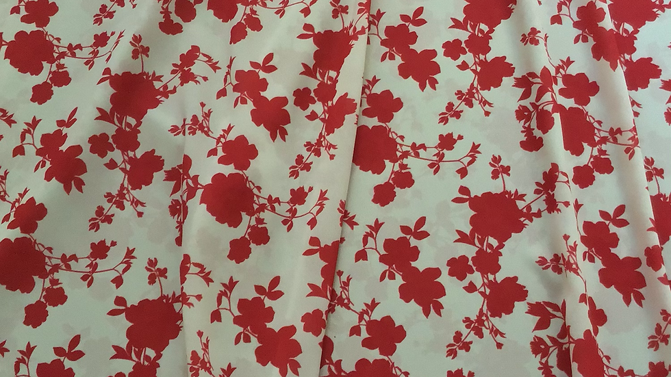 Chinoiserie Red Floral