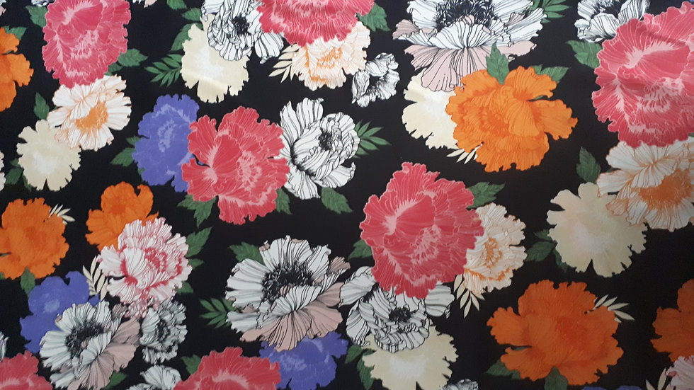 Remnant Chinese Style Floral/200cm